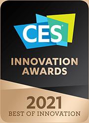 Logo for the Consumer Electronics Show Innovation Awards 2021